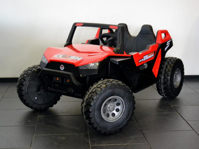 Power Buggy 2 persoons kinderauto 24 volt accu speelgoed 4x4