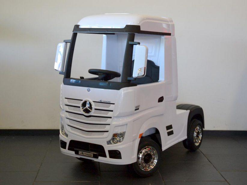 Mercedes Actros elektrische kinderspeelgoed Vrachtwagen 2x12V 2.4G RC Wit