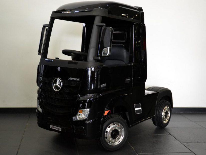 Mercedes Actros elektrische kinder speelgoed Vrachtwagen 2x12V 2.4G RC Zwart