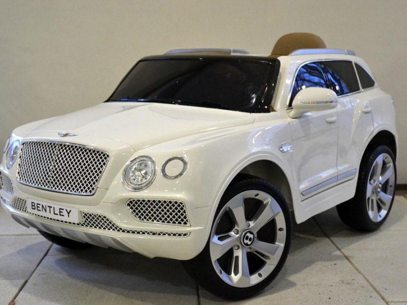 Bentley Bentayga kinderauto 12V 2.4G RC Wit