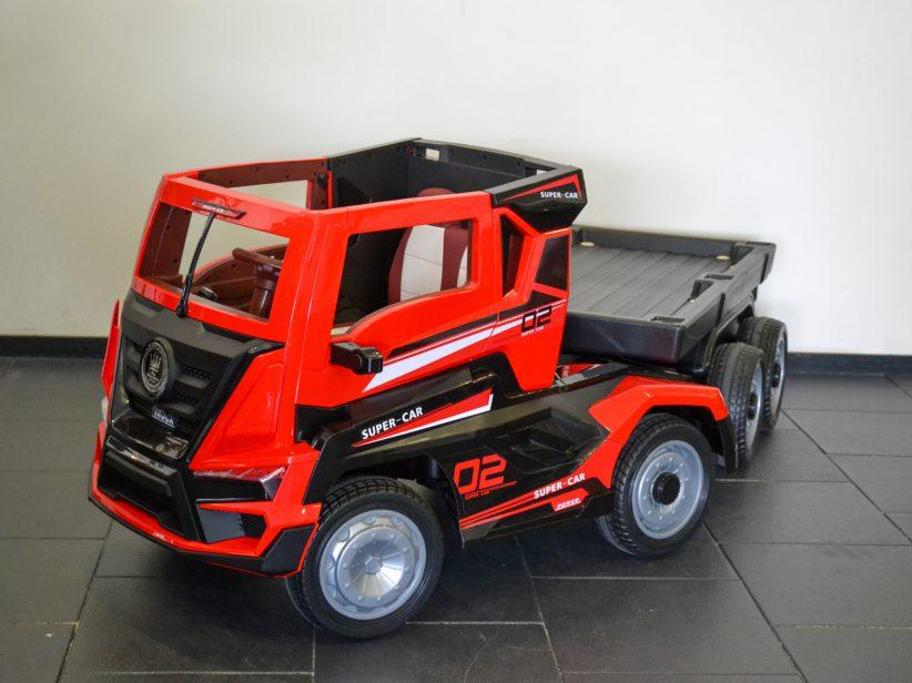 Vrachtwagen Voor Kinderen Met Trailer Elektrisch 12V RC