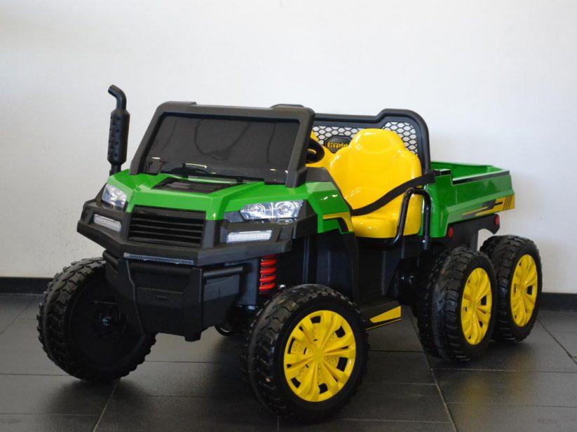 Farmertruck Elektrische Kinderauto 6X6 2 persoons 12V 2,4G
