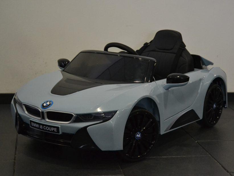 Bmw i8 Accu Speelgoedauto 12V 2.4G Afstandsbediening Nardoblauw