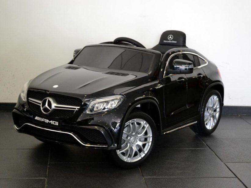 Mercedes GLE63 AMG kinderauto 12V 2,4G RC Zwart
