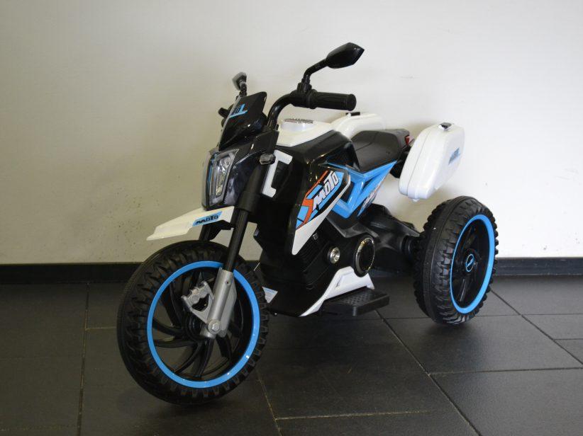 Trike Accu Elektrische Kindermotor Kindertrike 12V Blauw
