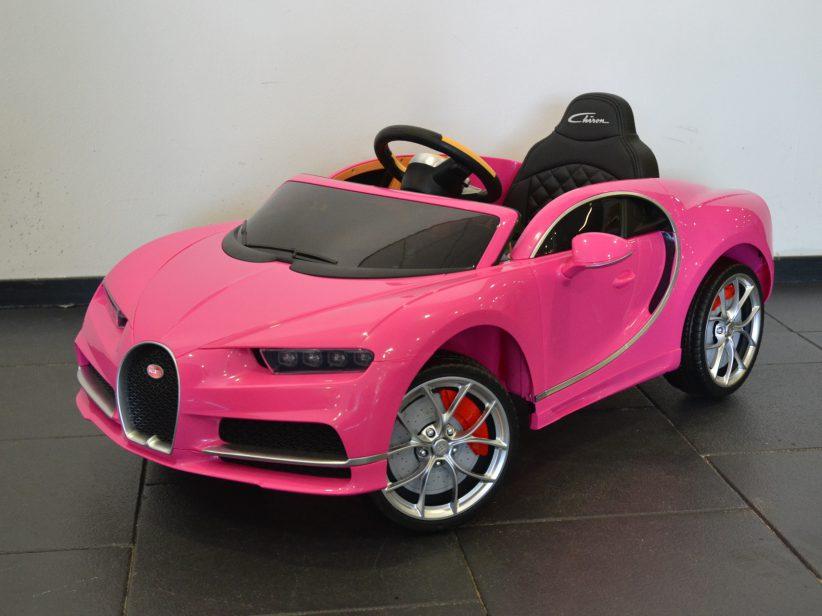 Bugatti Chiron kinderauto 12V 2.4G RC Roze