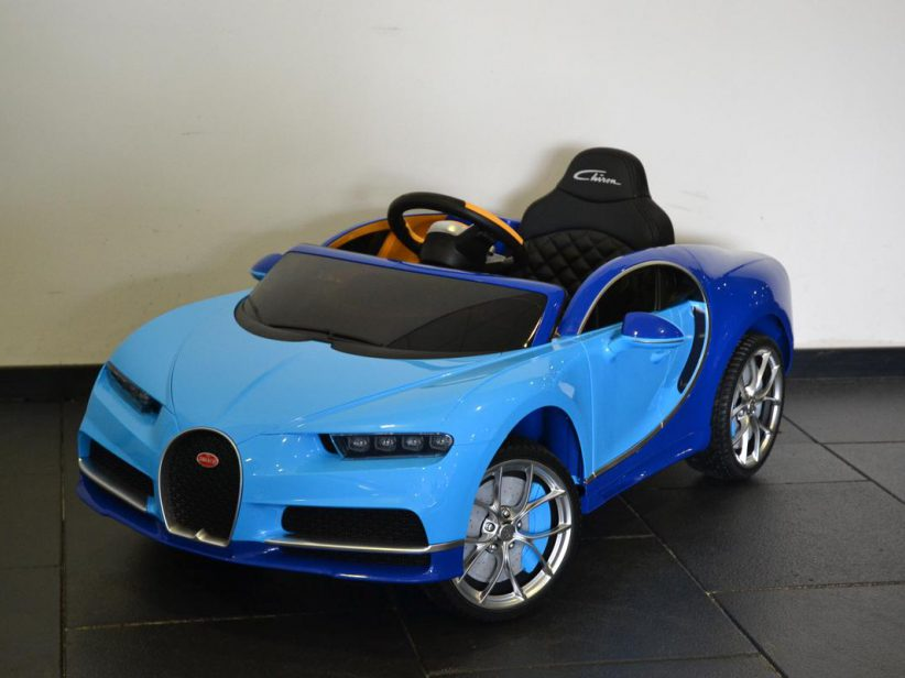 Bugatti Chiron kinderauto 12V 2.4G RC Blauw