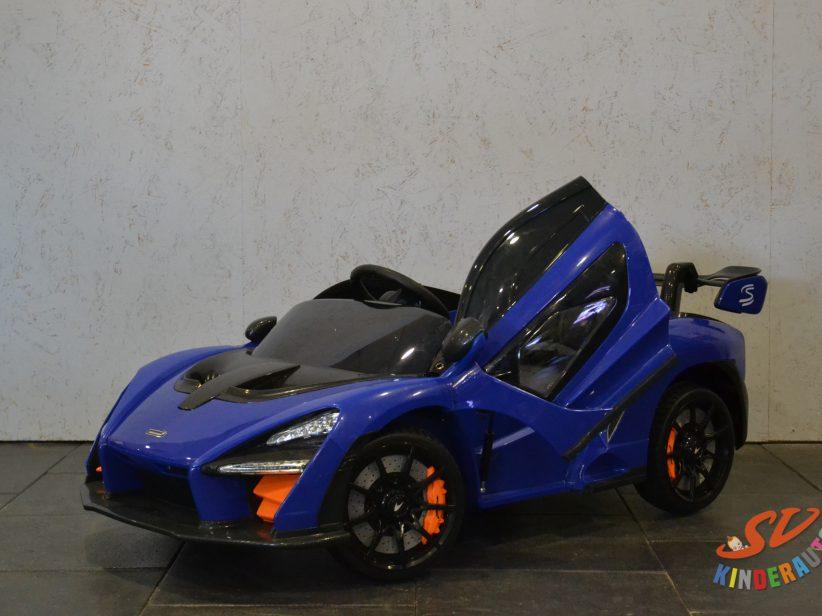 McLaren Senna elektrische kinderauto 12V 2,4G RC Blauw