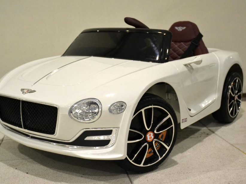 Bentley EXP12 kinderauto 12V 2.4G RC Wit