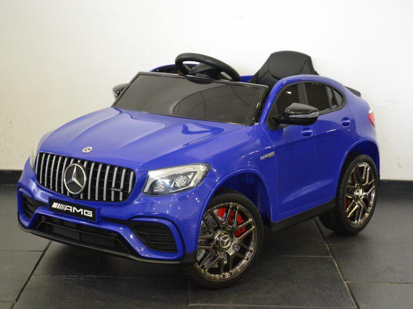 Mercedes GLC63 AMG Accu Kinderauto 12V 2.4G RC Blauw