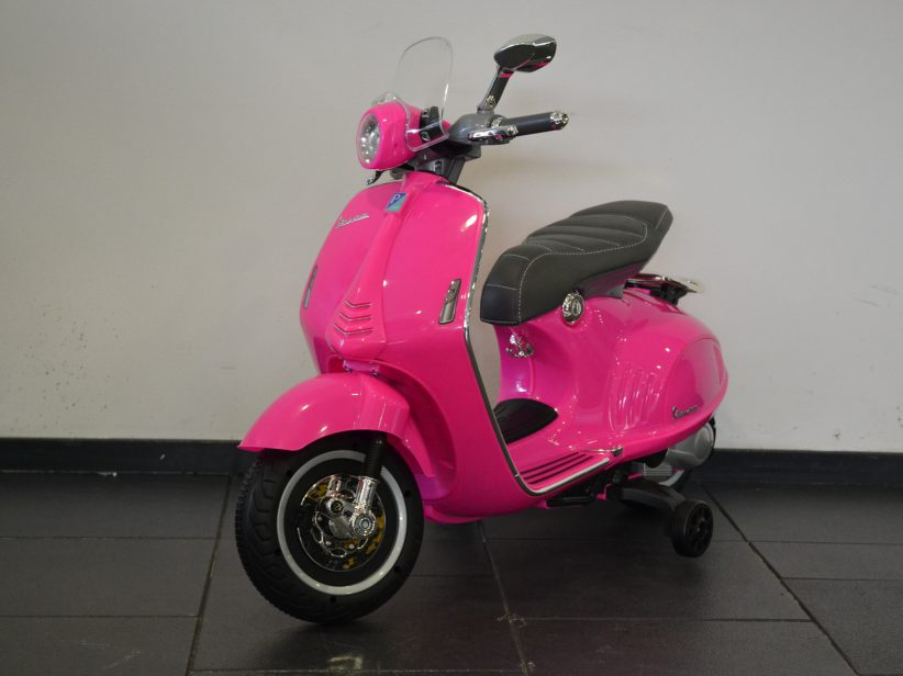 Vespa 946 Kinder Accu Scooter 12 Volt Roze