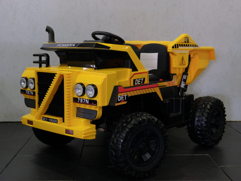 Dumper Elektrische Kindertruck Kiepwagen 4x4 RC APP
