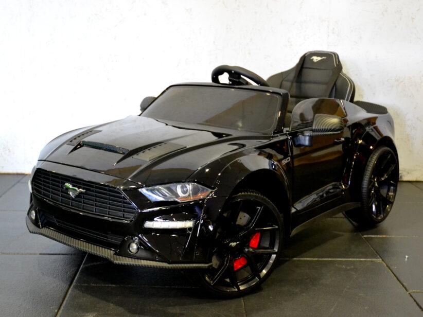 Ford Mustang Elektrische Kinderauto 24V 2.4G RC Zwart Drift