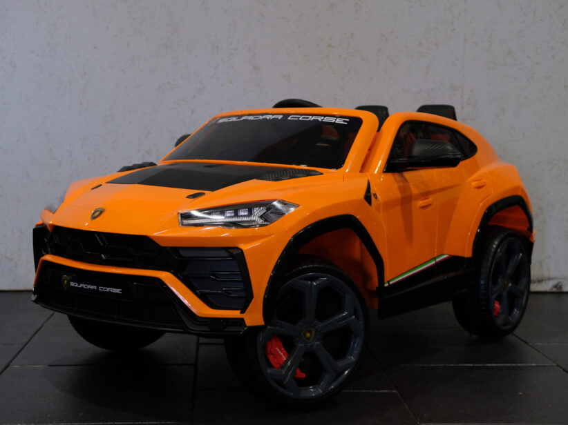 Lamborghini Urus Elektrische Kinderauto 2.4G RC Oranje