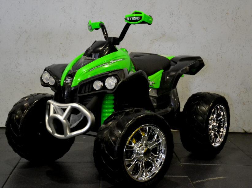Quad Elektrische Kinderquad Groen Sport Offroad