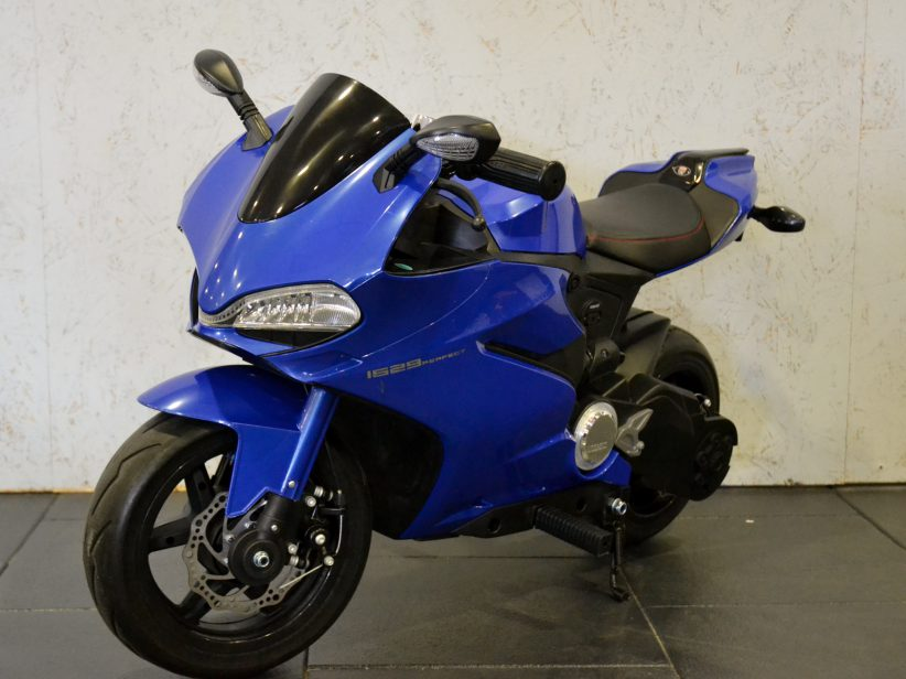 Ninja Minibike 24 Volt Elektrische Kinder Minibike 24V Blauw
