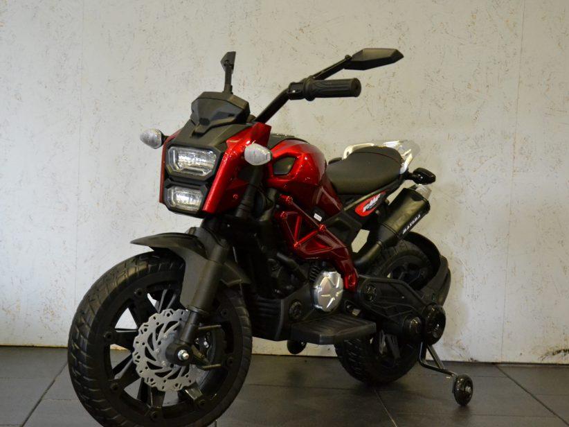 Grom Superbike Accu Kindermotor 12V Rood Metallic