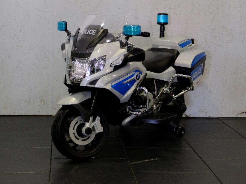 BMW R1200 Politiemotor Kindermotor 12V met Zijwielen